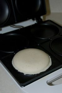 Flattened Arepa in the Tostiarepa