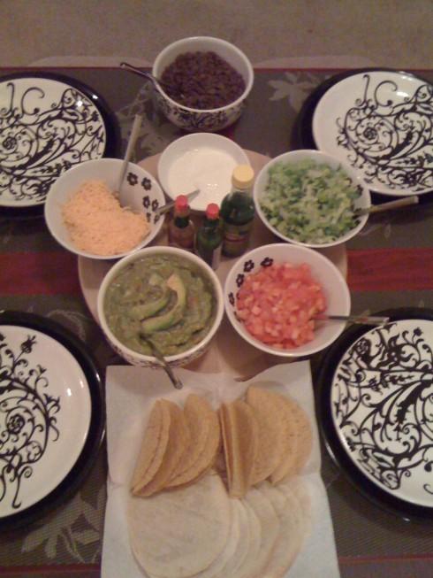 Taco Night... Featuring Venezuelan Guasacaca