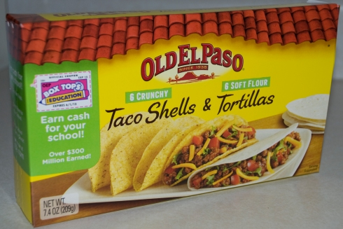 Old El Paso Taco Shells and Tortillas