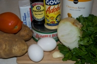 Ingredients for Tuna Croquettes