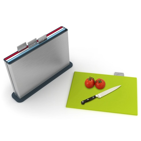 The Stainless Steel Index Cutting Board
