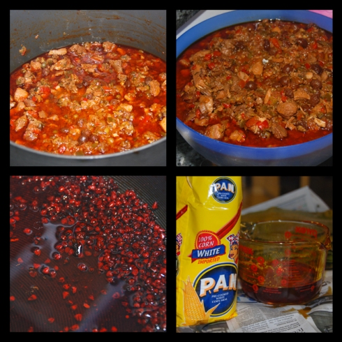 The Making of Venezuelan Hallacas: El Guiso | The Stew & El Aceite Onotado | Annatto Oil