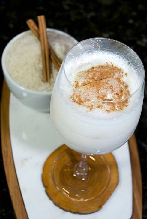 Venezuelan Chicha with Cinnamon and Condensed Milk