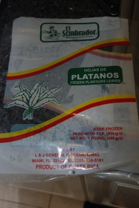 Hojas de Platanos | Plantain Leaves | Banana Leaves