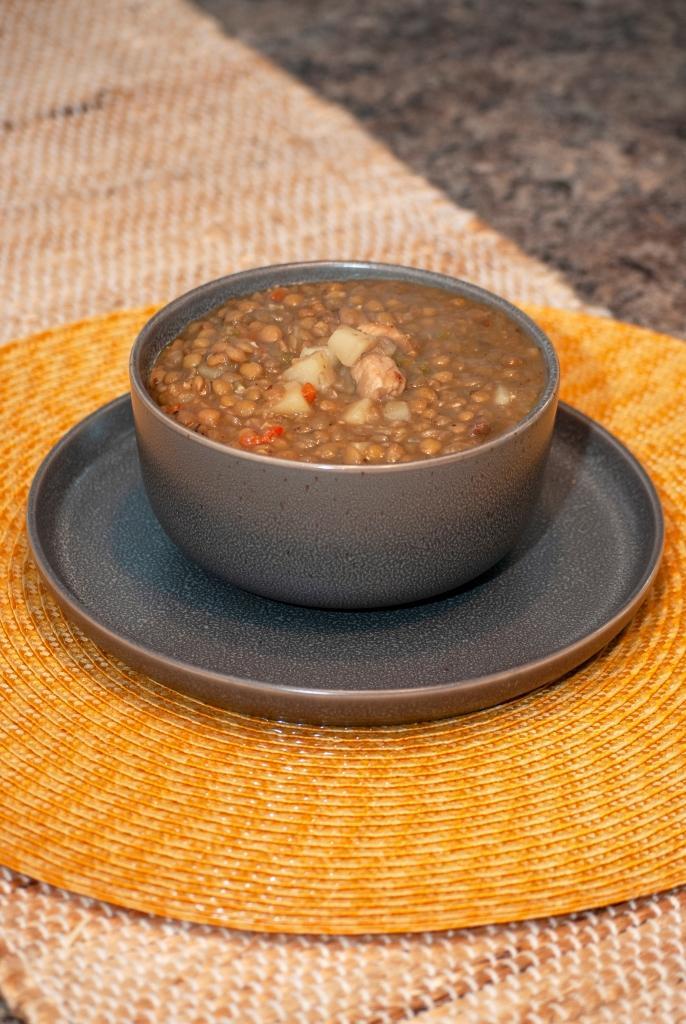 Sopa de Lentejas | Venezuelan Lentil Soup